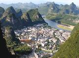 China Yangshuo-Arr. Stad-En-Rivier