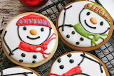 #Christmas Cookie Snowmen