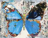 Urban Camo Butterfly