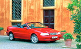 red Volvo convertible