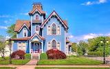 House in Springfield Illinois, USA