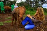 Thank You, Dame Daphne Sheldrick , for saving Kenya's orphans