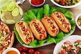 Fast food Hot dog Buns 495686