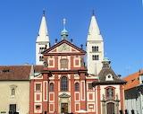 Prag, Saint George Basilica, Cz