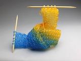 ^ Glass Knitting - Carol Milne