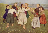 Children Dancing - Hans Thoma 1872