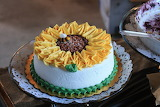 it's for me!-sunflower cake