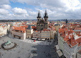 Praha, cityscape, Cz