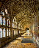 """Architecture tumblr ARCHatlas """"Gloucester Cathedral Cloisters"""""""
