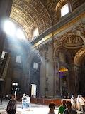 Inside St Peter's