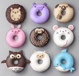 Cute Animal Doughnuts