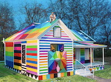 Colorful cottage in Fort Smith, AK