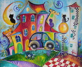 Colorful Magic City - Sylwia Gromacka