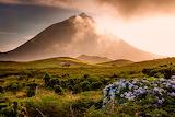 Mount Pico. Pico Island, Azores