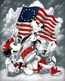 Donald Duck,Goofy,Mickey