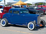 Ford hot rod blue 1932
