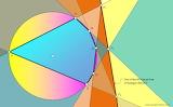 Pascal line theorem art