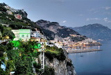 Amalfi Italy at night