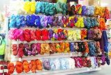 Yarn Store - Rainbow Array of Yarns