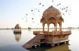 Amar Sagar Lake Jaisalmer India