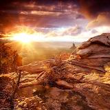 Desert Sunset...