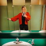 GH Jigsaw Challenge: Red Sweater Selfie
