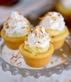 Coconut cream pie cups