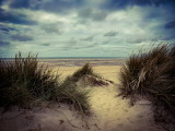 Dunes de sable-plage