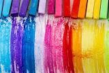 Rainbow colours....