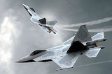 Russian sukhoi T50 jet fighter