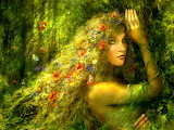 ☺ Goddess of the forest...