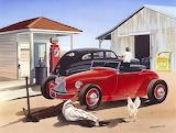 Desert Gas Station - Bruce Kaiser