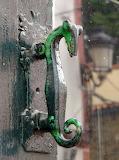 Lizzard Style Door Pull