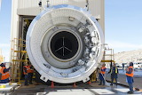 Preparing to test booster for new SLS rocket