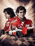 F1 A.Prost+A.Senna