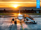 Airplane ready to disembark by auricle99 from magic jigsaw puzzl