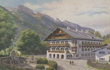 hotel between the mountains