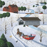 Sleigh Ride in Vermont - Art Poulin