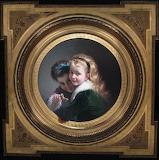 Pere Borrel del Caso, Two laughing girls, 1880