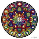 Mandala 42, Rainbow Coloured - Jim Gogarty
