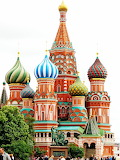 Moscow - Russia,the temple of Vasil the blessed