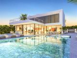 Luxury modern Spanish villa and pool