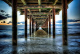 Under the Boardwalk, Southwold, by Andi Campbell Jones