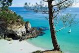 Crozon France beach scene