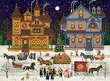 Victorian Christmas by Charles Wysocki