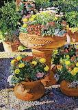 Flower Pots in Sunlight