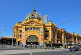 Flinders Street Railway Station - the Busiest Train Station in A