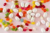 ^ Easter jelly beans and malt eggs