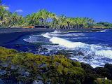 Honolulu-Big-Island-Kona-beach-blach