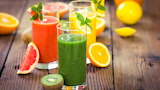Fruit-drinks-juice-grapefruit-kiwi-orange-mint 1920x1080